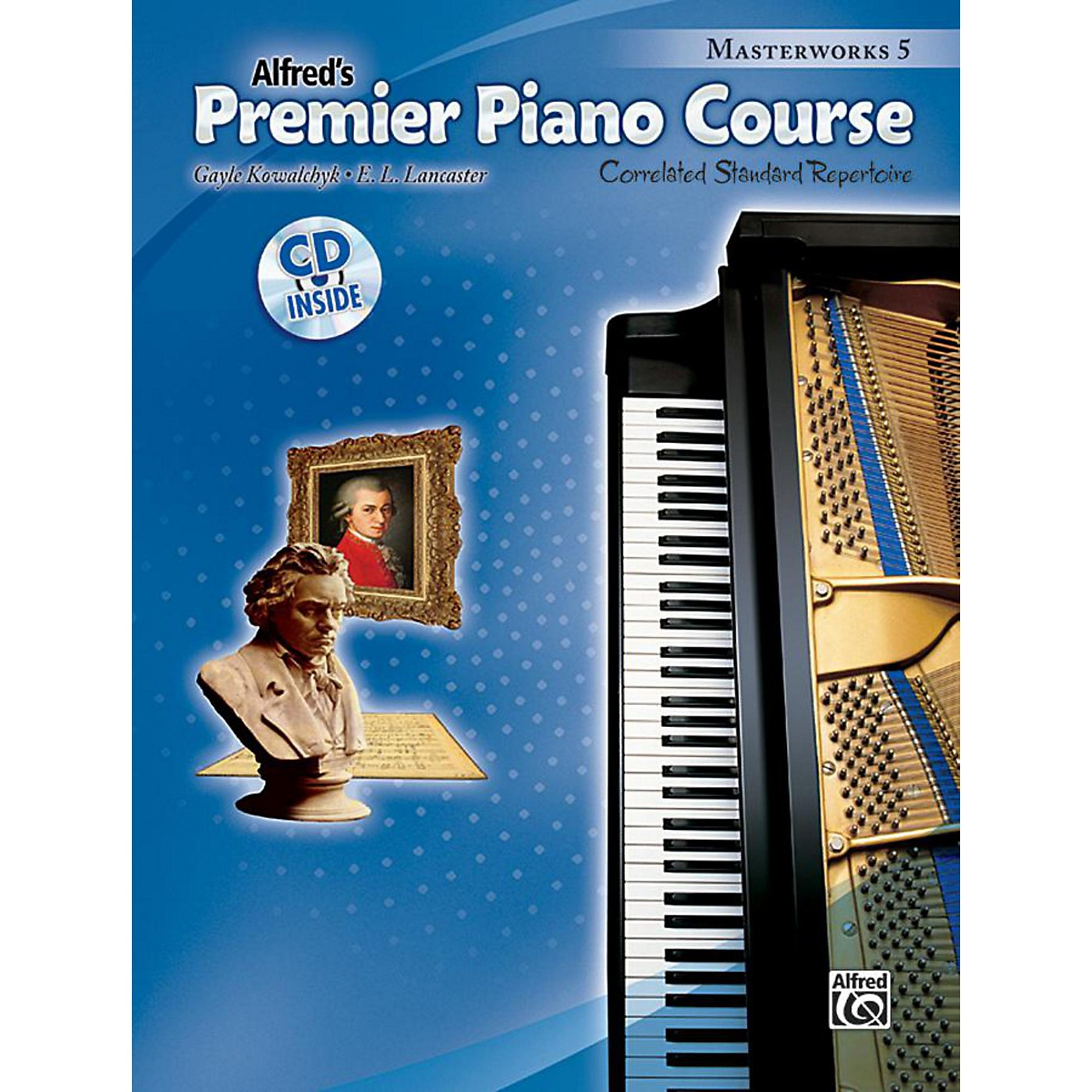 Alfred Premier Piano Course: Masterworks Book 5 & CD thumbnail