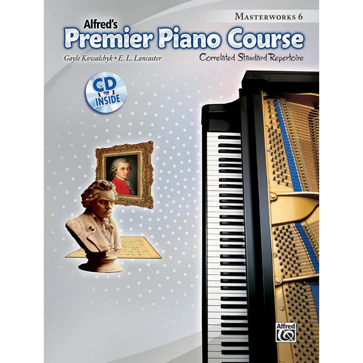 Alfred Premier Piano Course Masterworks Book 6 & CD thumbnail