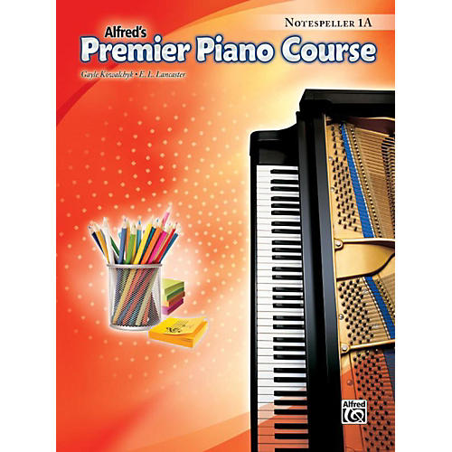 Alfred Premier Piano Course Notespeller Level 1A Book thumbnail
