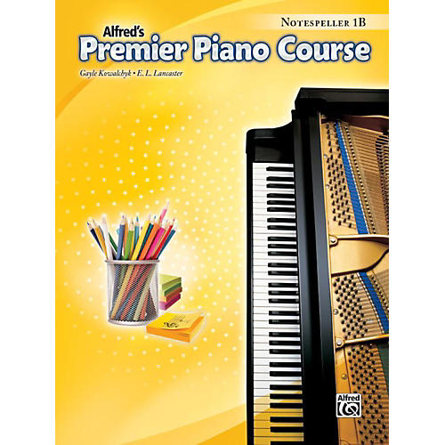 Alfred Premier Piano Course Notespeller Level 1B Book thumbnail