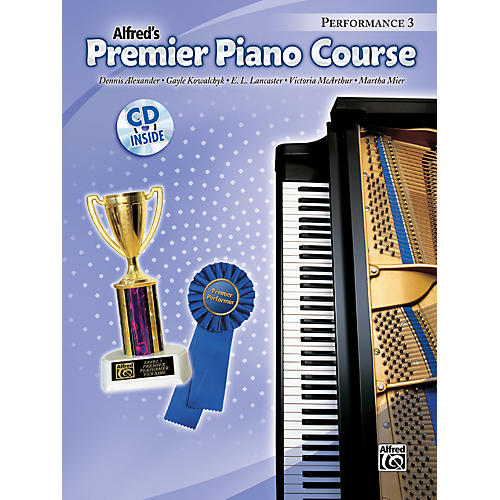 Alfred Premier Piano Course Performance Book 3 Book 3 & CD thumbnail