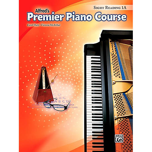 Alfred Premier Piano Course Sight Reading Level 1A Book thumbnail