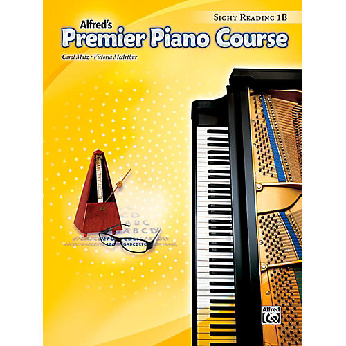 Alfred Premier Piano Course Sight Reading Level 1B Book thumbnail