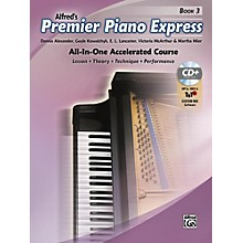 Alfred Premier Piano Express, Book 3 Book, CD-ROM & Online Audio & Software Level 3-4