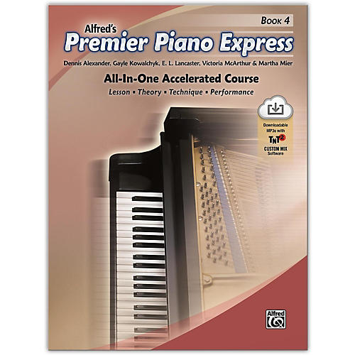 Alfred Premier Piano Express, Book 4 Book & Online Audio & Software Level 5-6 thumbnail