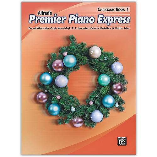 Alfred Premier Piano Express: Christmas, Book 1 Level 1 thumbnail