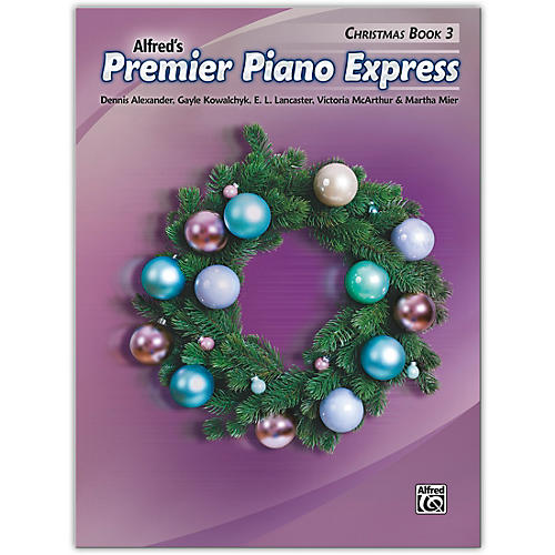 Alfred Premier Piano Express: Christmas, Book 3 Levels 3 & 4 thumbnail