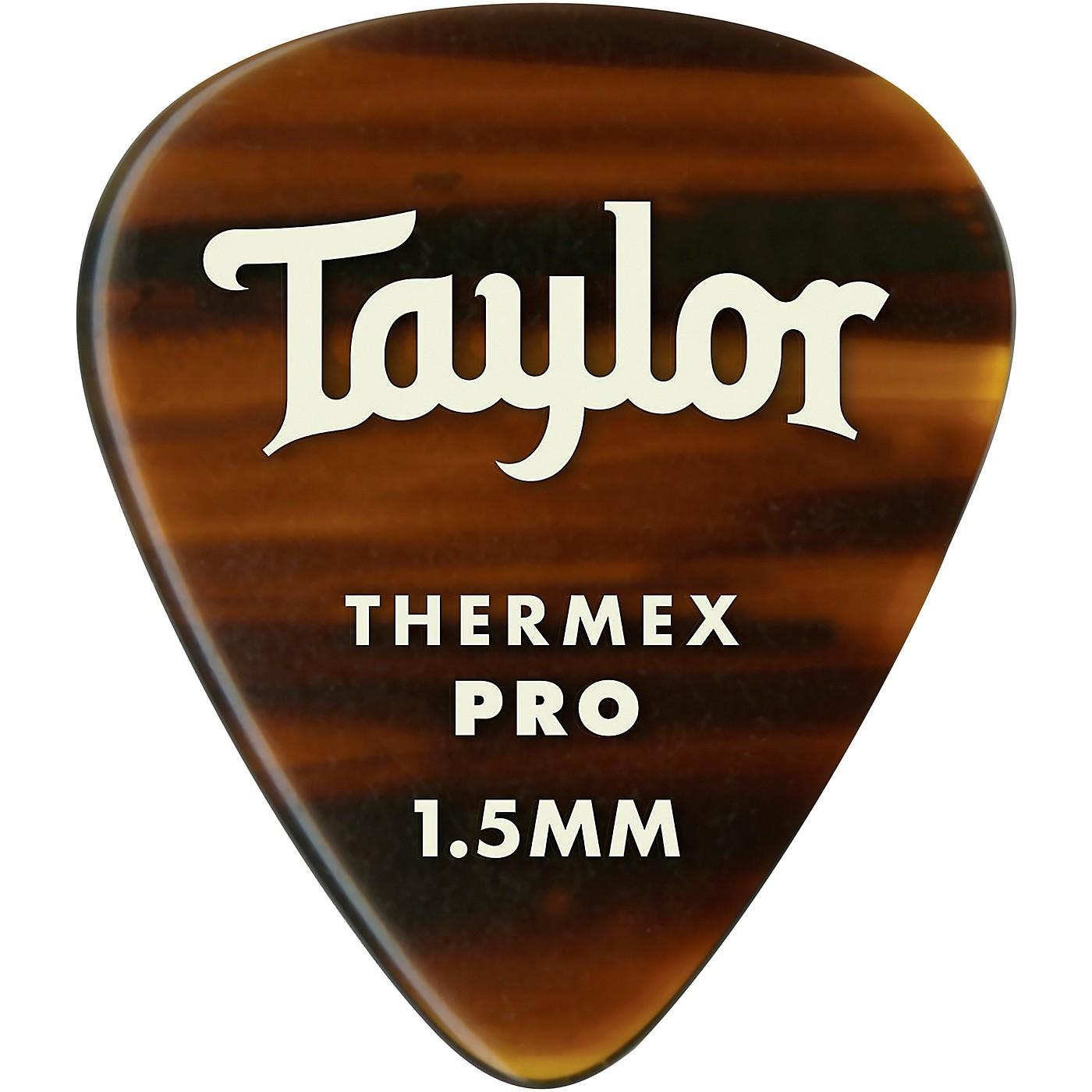 Taylor Premium 351 Thermex Pro Picks Tortoise Shell 6-Pack thumbnail