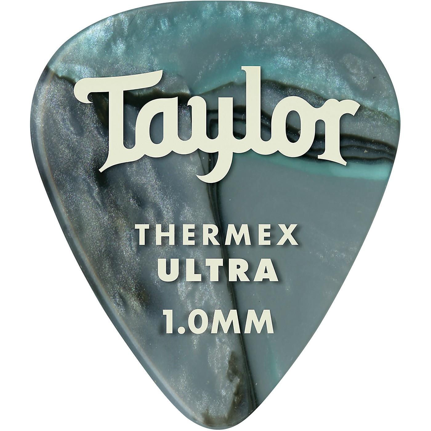 Taylor Premium 351 Thermex Ultra Picks Abalone 6-Pack thumbnail
