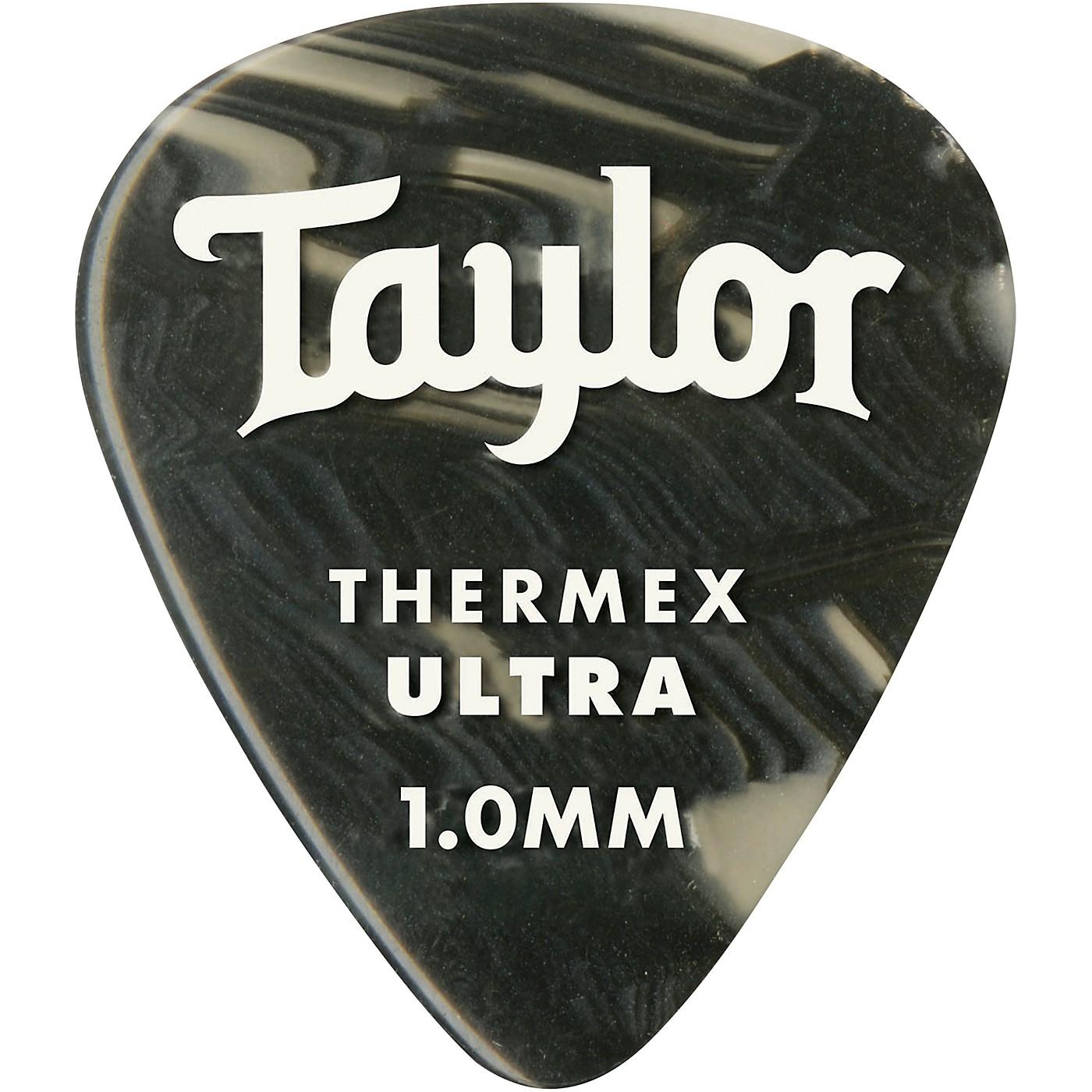 Taylor Premium 351 Thermex Ultra Picks Black Onyx 6-Pack thumbnail