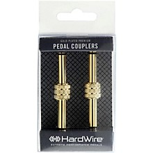 "DigiTech Premium Gold-Plated 1/4"" Male Coupler (2-Pack)"
