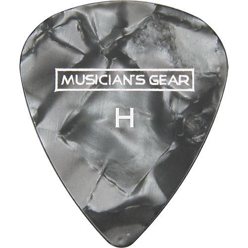 Musician's Gear Premium Pearloid Celluloid Pick - 12 Pack-thumbnail