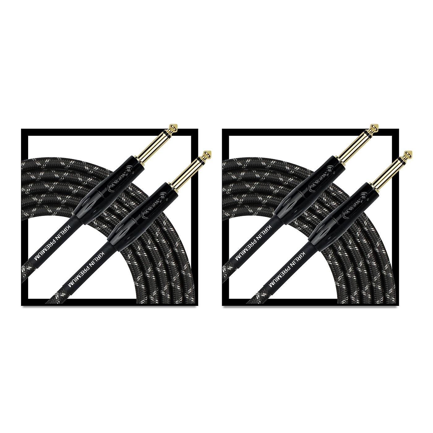 KIRLIN Premium Plus Instrument Cable 20' - 2-Pack thumbnail