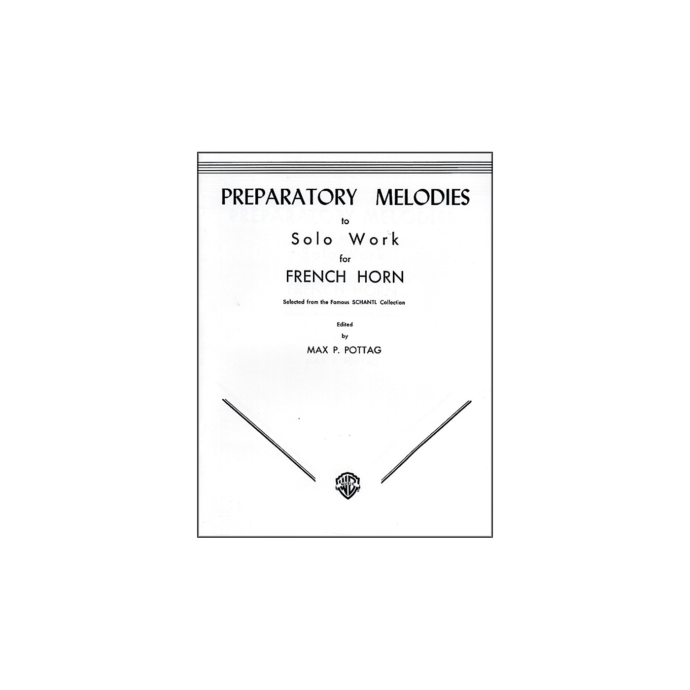 Alfred Preparatory Melodies to Solo Work for French Horn (from Schantl) Book thumbnail
