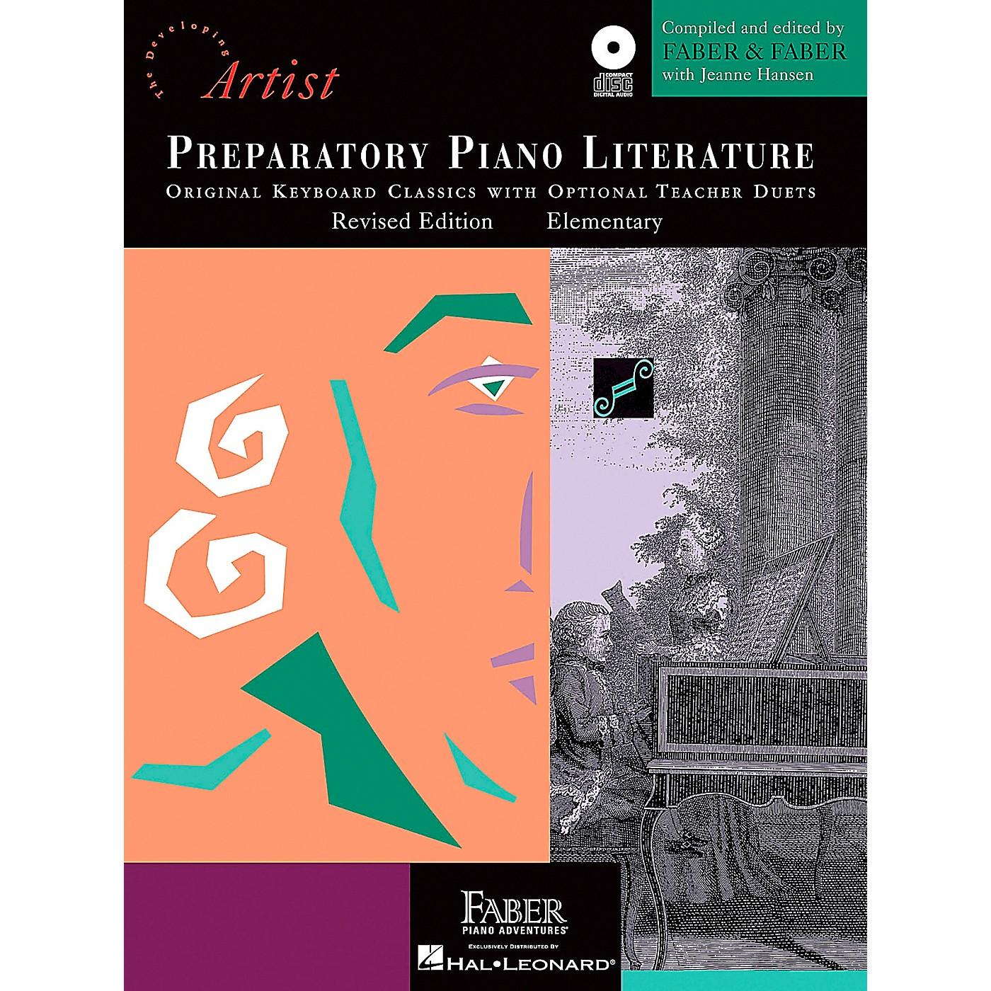 Faber Piano Adventures Preparatory Piano Literature - Developing Artist Original Keyboard Classics Book/CD Faber Piano thumbnail