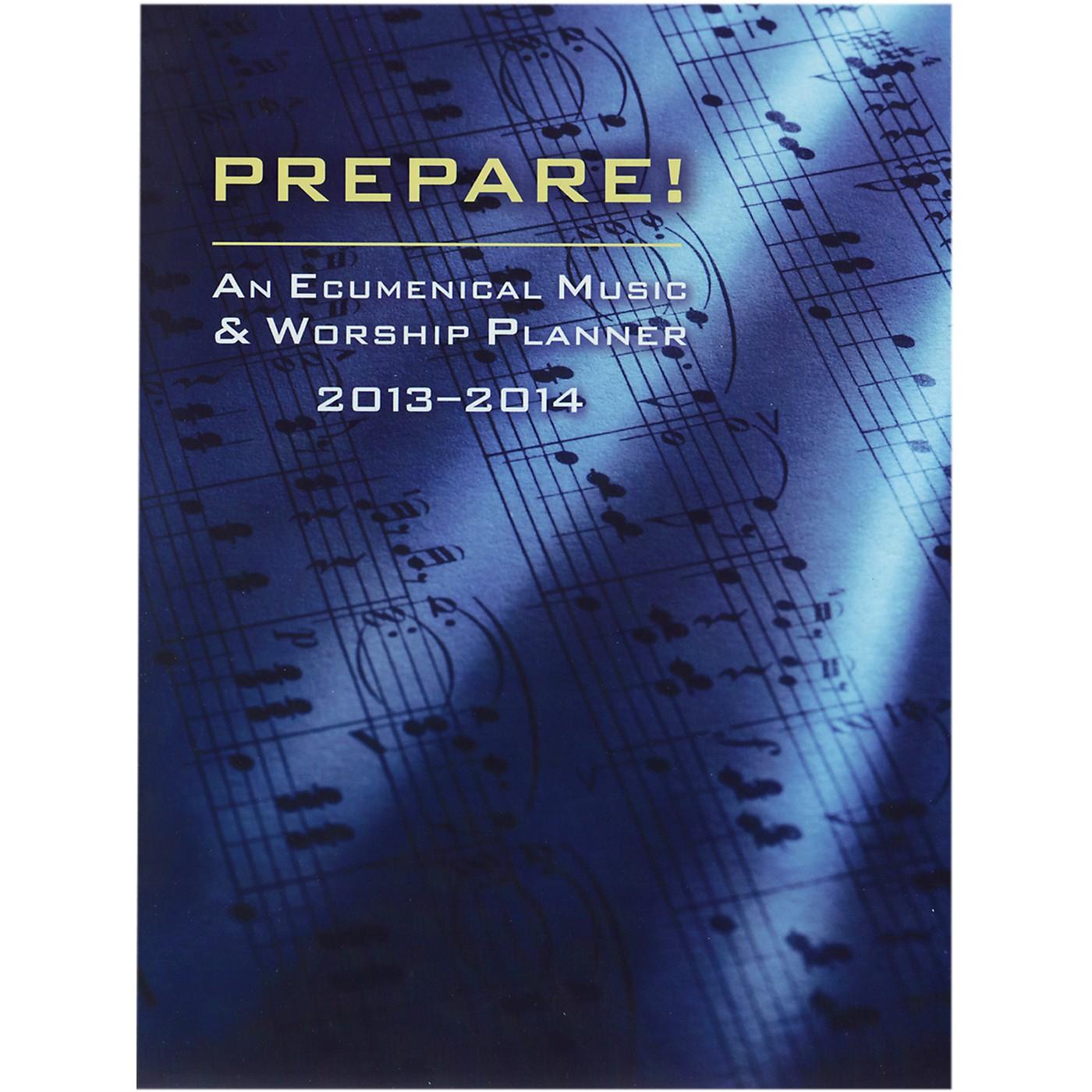 Carl Fischer Prepare! 2013-2014 Worship Services Planner (Book) thumbnail