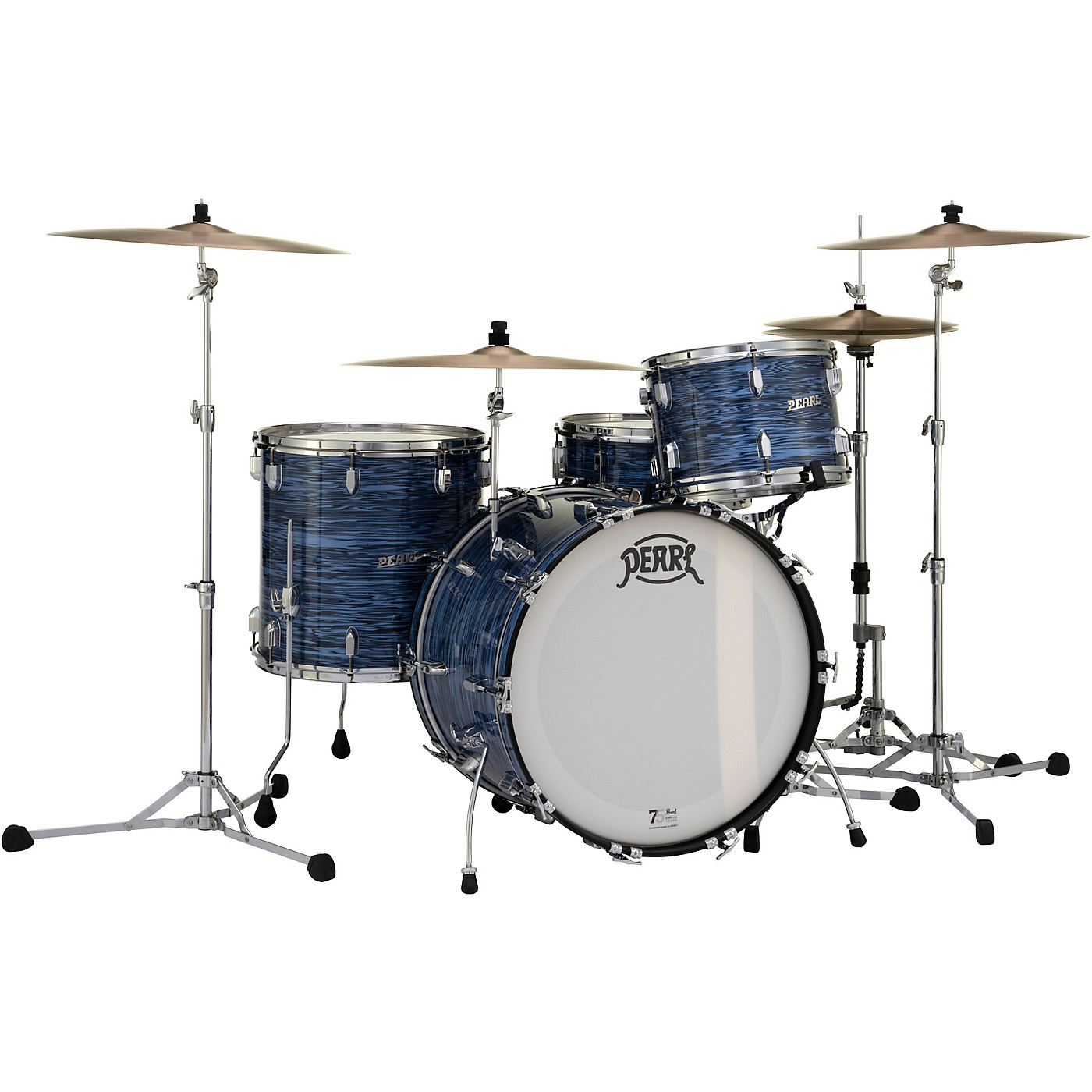 Pearl President Series Deluxe 3-Piece Shell Pack with 22 in. Bass Drum thumbnail