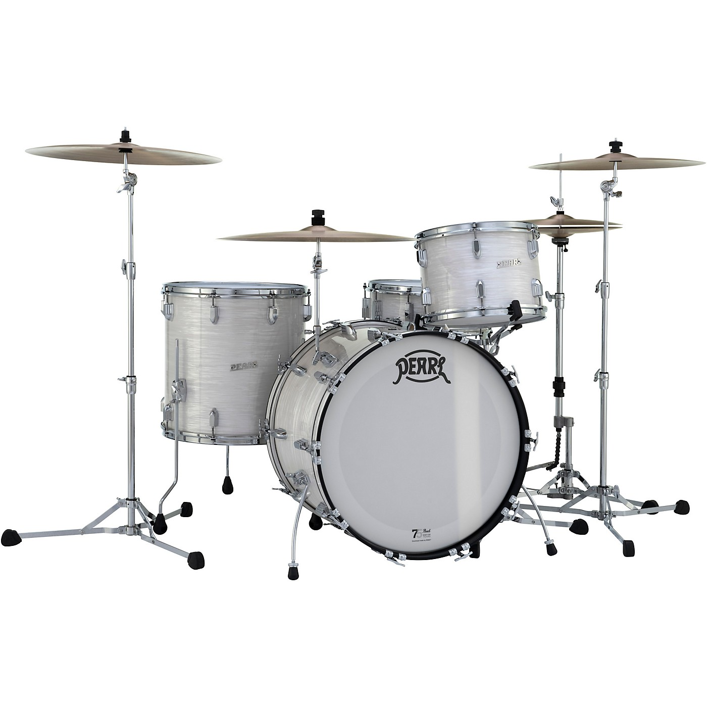 Pearl President Series Phenolic 4-Piece Shell Pack with Cases thumbnail
