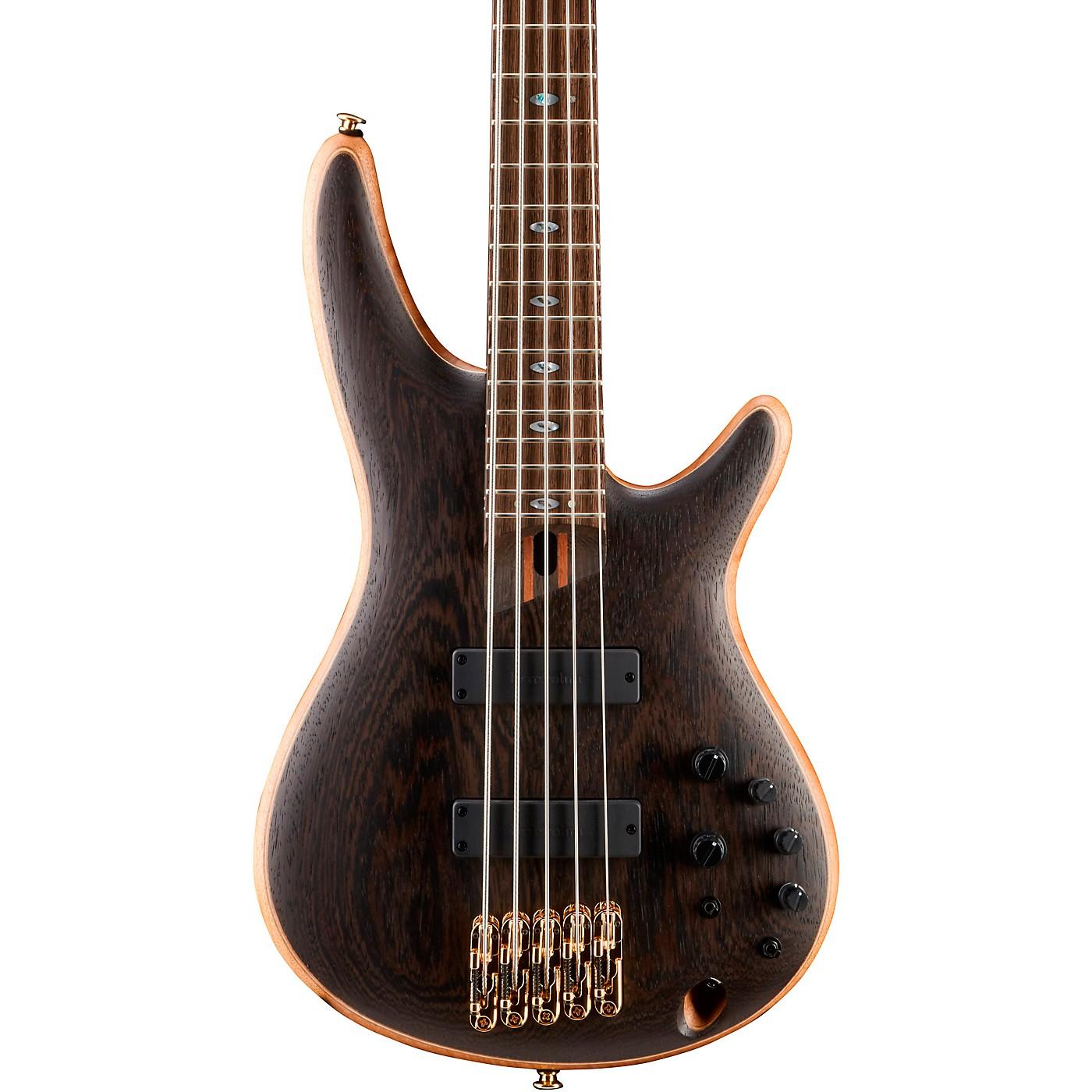 Ibanez Prestige SR5005 5-String Electric Bass Guitar thumbnail