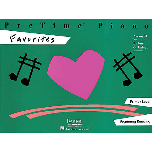 Faber Piano Adventures Pretime Piano Favorites Book Primer Level thumbnail