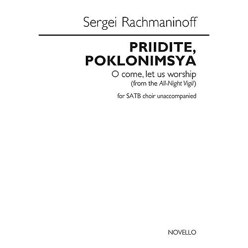 Novello Priidite, Poklonimsya (O Come, Let Us Worship) SATB a cappella by Sergei Rachmaninoff thumbnail