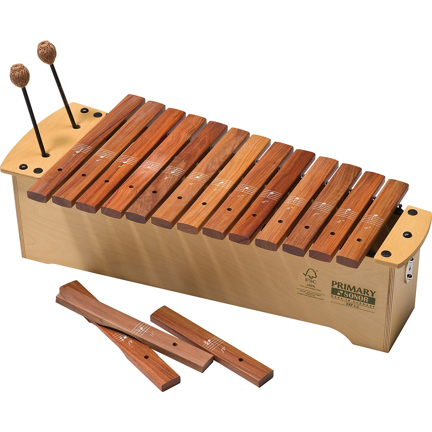 Sonor Orff Primary Line FSC Alto Xylophone thumbnail