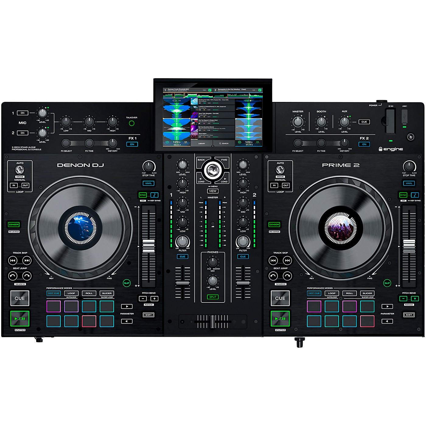 Denon DJ Prime 2 Standalone 2-Channel DJ Controller thumbnail