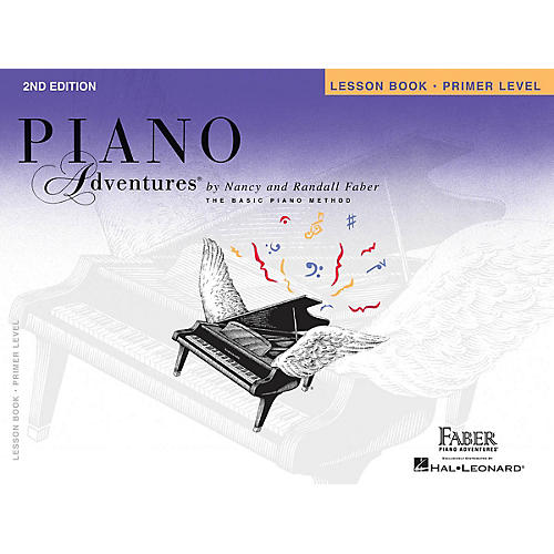 Faber Piano Adventures Primer Level - Lesson Book - Original Edition Faber Piano Adventures Series Book by Nancy Faber thumbnail