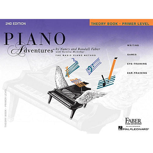 Faber Piano Adventures Primer Level - Theory Book - Original Edition Faber Piano Adventures Series Book by Nancy Faber thumbnail