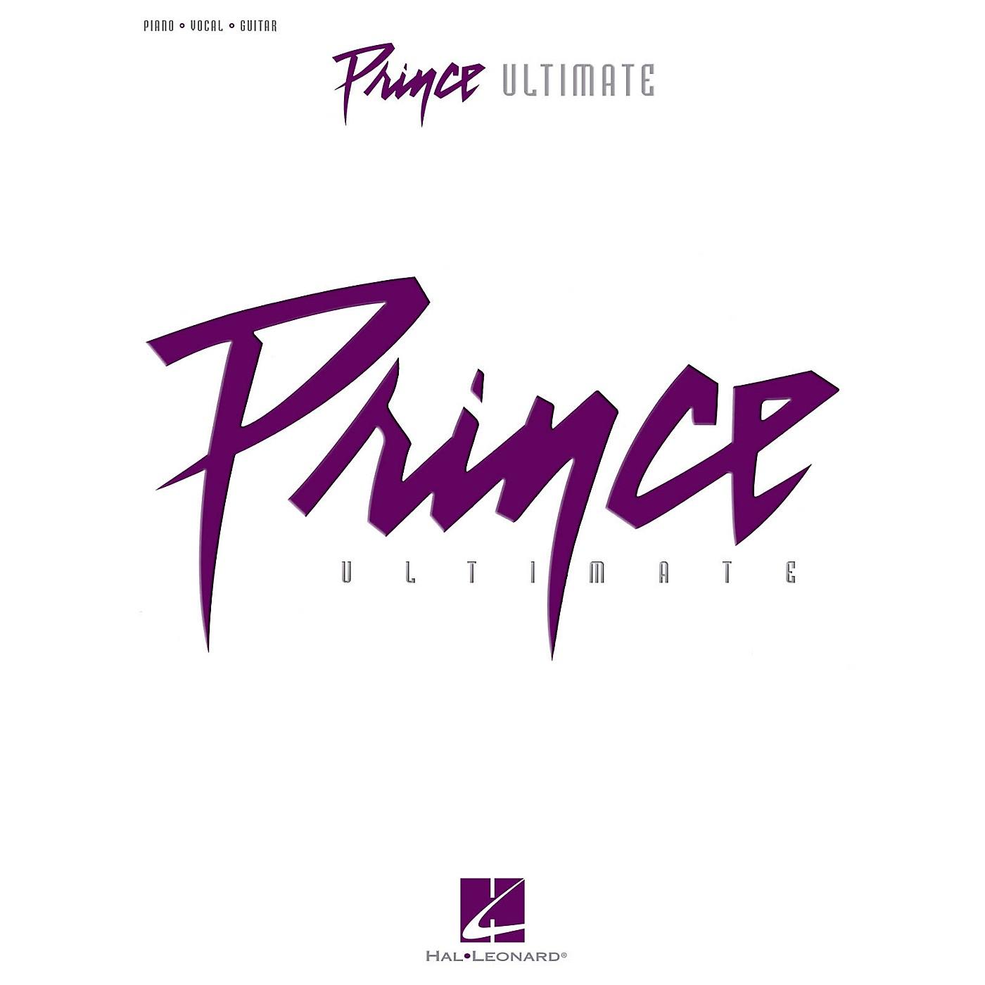 Hal Leonard Prince-Ultimate Piano/Vocal/Guitar Songbook thumbnail