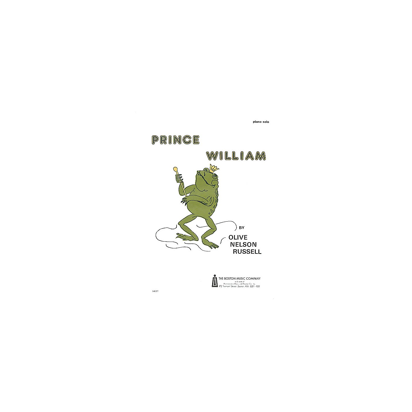 Boston Music Prince William Music Sales America Series Composed by Olive Nelson Russell thumbnail