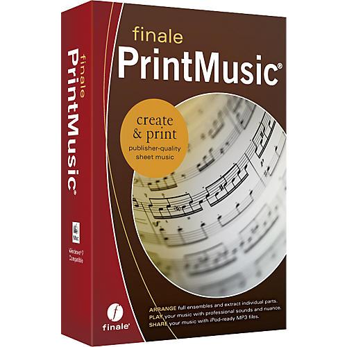 Finale PrintMusic 2011 Retail-thumbnail