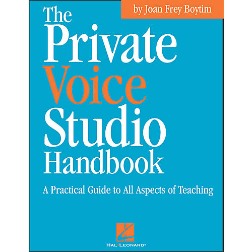 Hal Leonard Private Voice Studio Handbook - A Practical Guide To All Aspects Of Teaching thumbnail