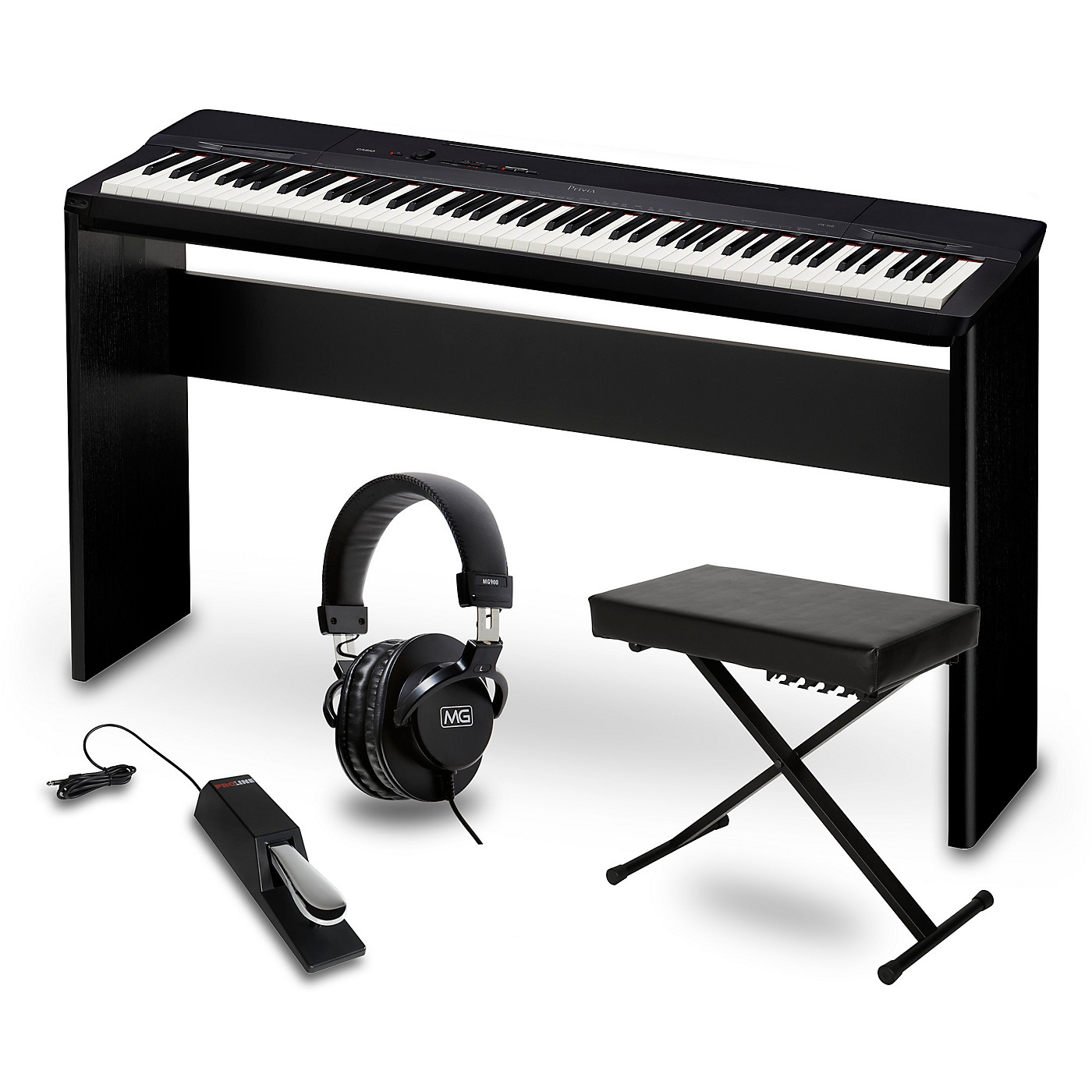 Casio Privia PX-160BK Digital Piano Package thumbnail