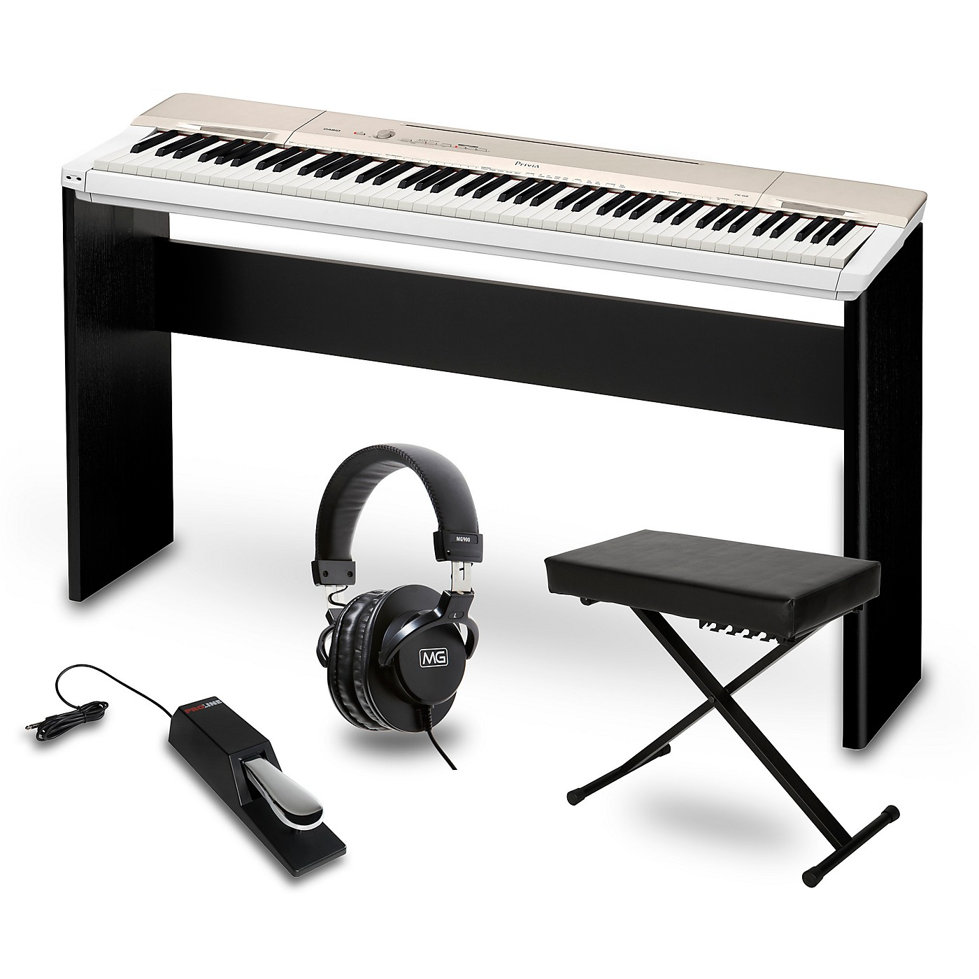Casio Privia PX-160GD Digital Piano Package thumbnail