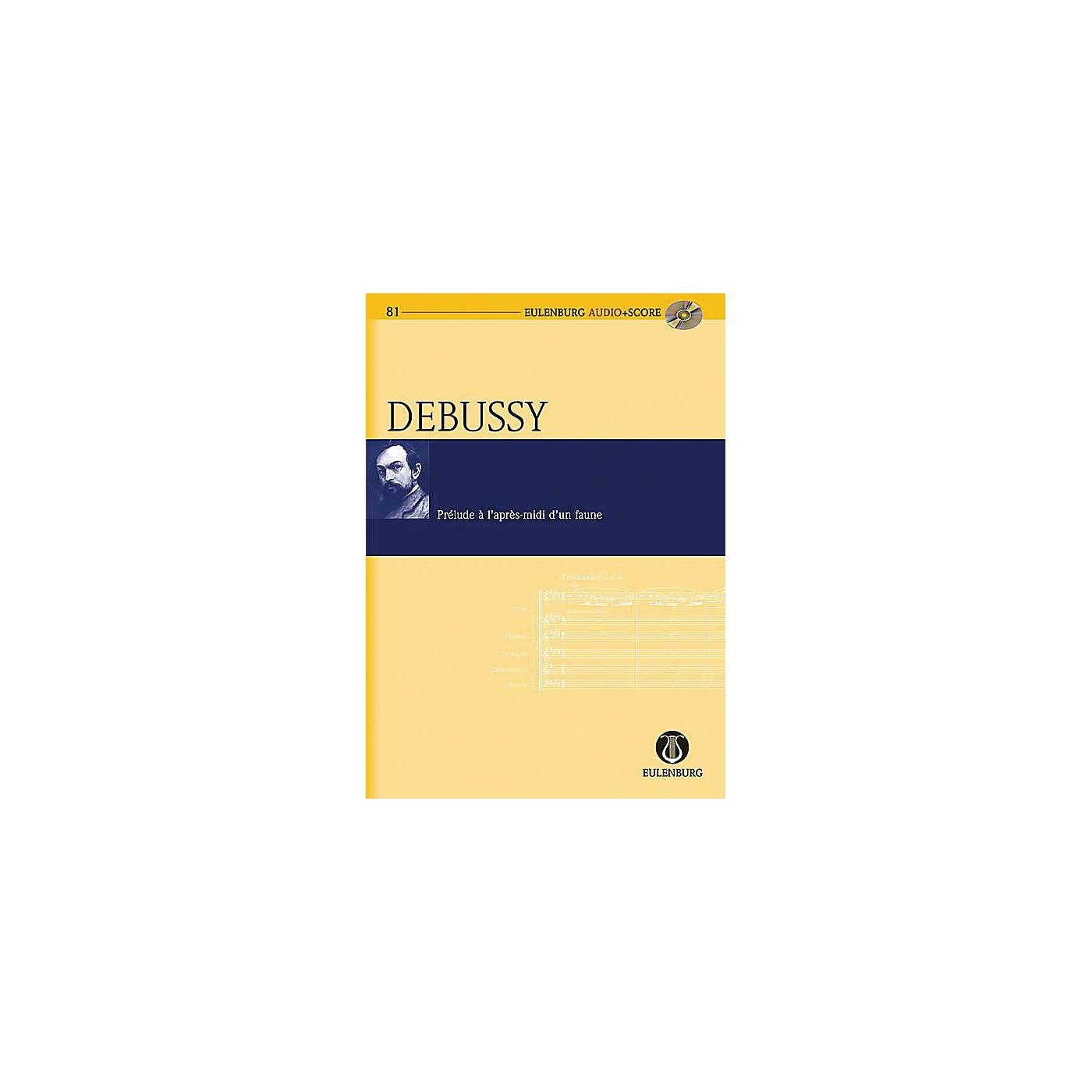Eulenburg Prélude à l'après-midi d'un faune Eulenberg Audio plus Score Series Softcover with CD by Claude Debussy thumbnail