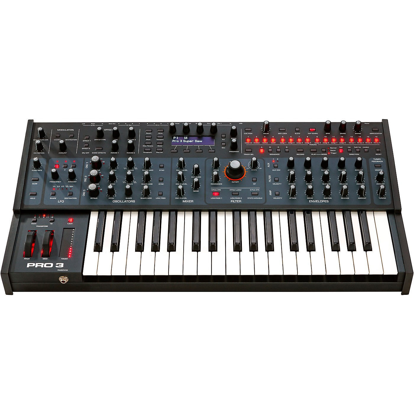 Sequential Pro 3 Multi-Filter Mono Synthesizer thumbnail