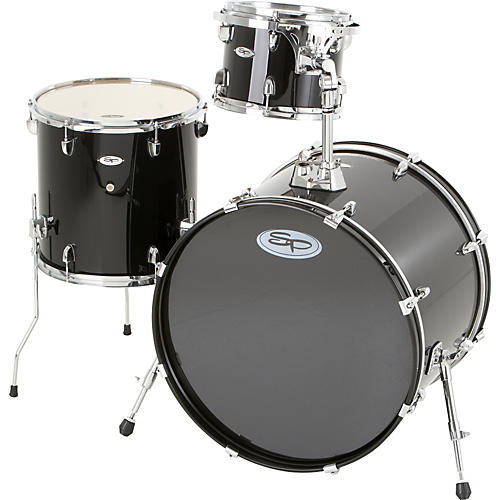 Sound Percussion Labs Pro 3-Piece Double Bass Add-On Pack (Chrome Hoops and Lugs)-thumbnail