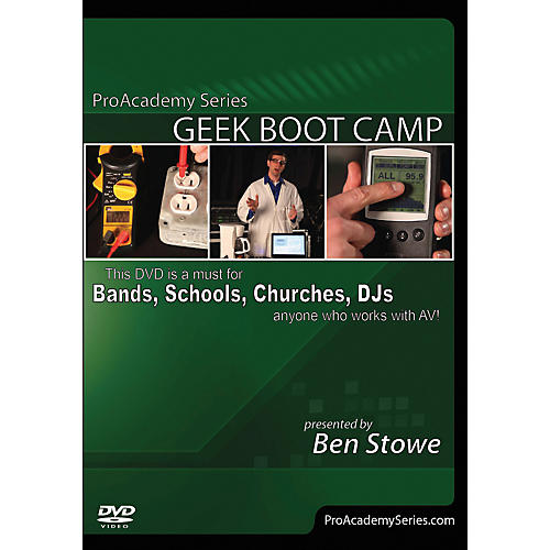 Alfred Pro Academy Series Geek Boot Camp DVD thumbnail