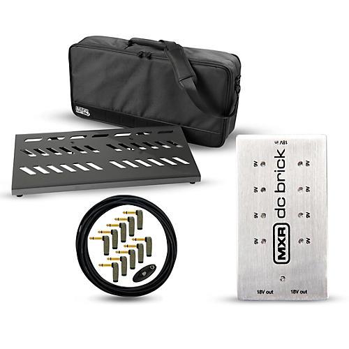 Gator Pro Aluminum Pedal Board Bundle with MXR Power Brick thumbnail