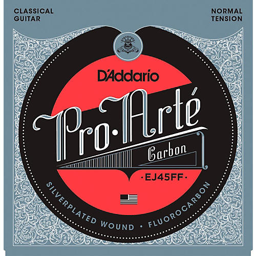 D'Addario Pro-Arte Carbon with Dynacore Basses - Normal Tension Classical Guitar Strings thumbnail