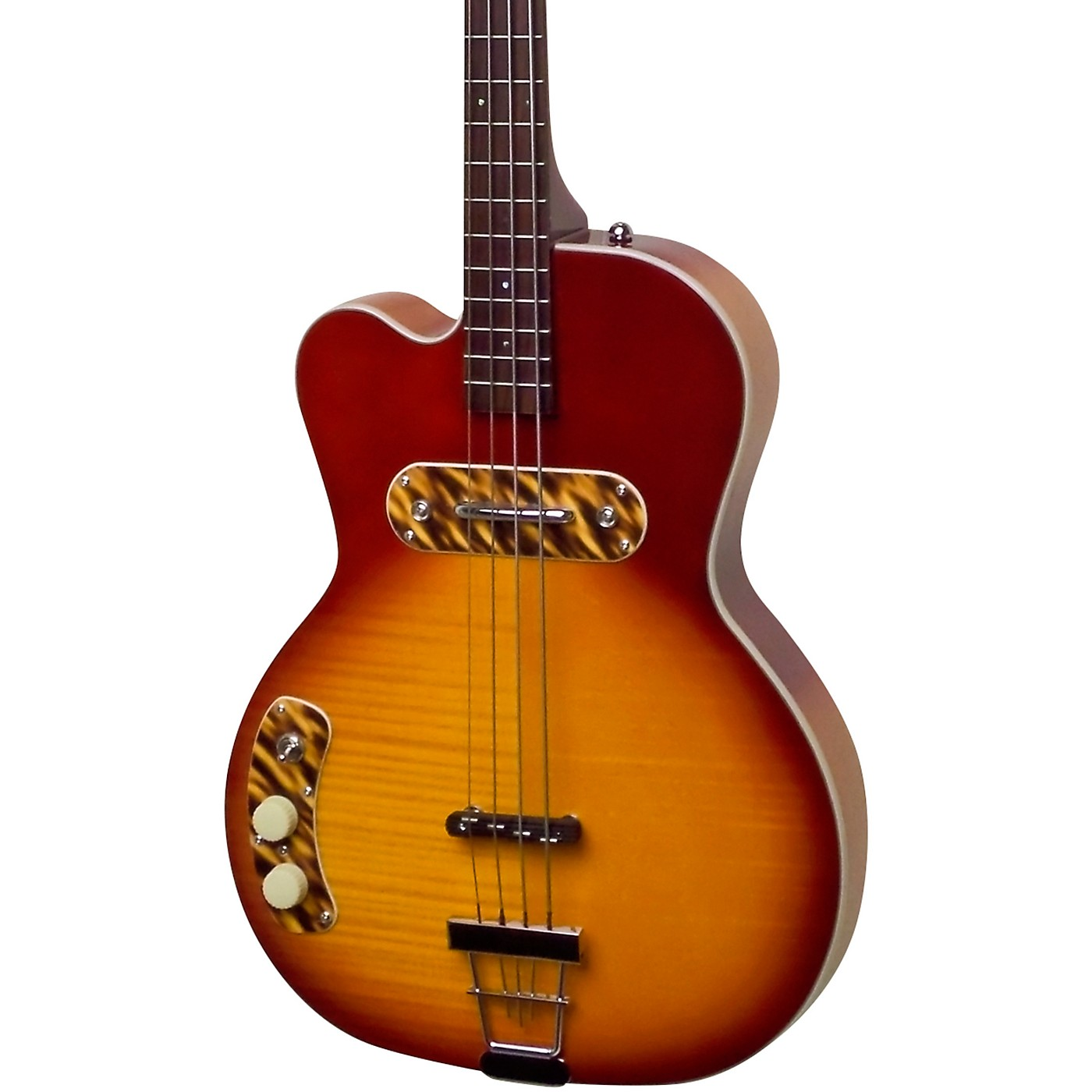 Kay Vintage Reissue Guitars Pro Left-Handed Electric Bass thumbnail