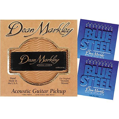 Dean Markley Pro Mag Grand Acoustic Guitar Pickup Bundle-thumbnail