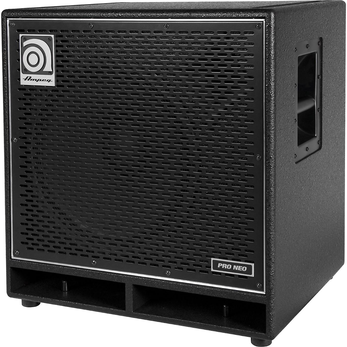 Ampeg Pro Neo Series PN-115HLF 575W 1x15 Bass Speaker Cabinet thumbnail