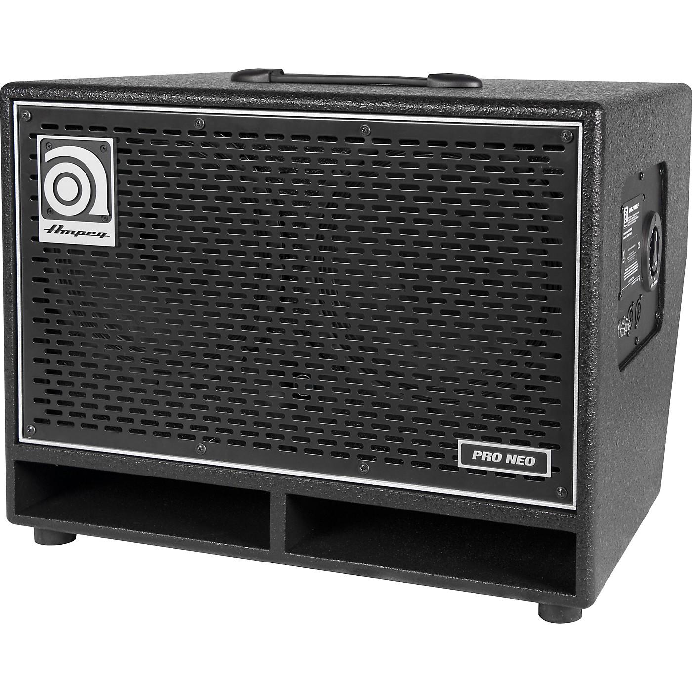 Ampeg Pro Neo Series PN-210HLF 550W 2x10 Bass Speaker Cabinet thumbnail