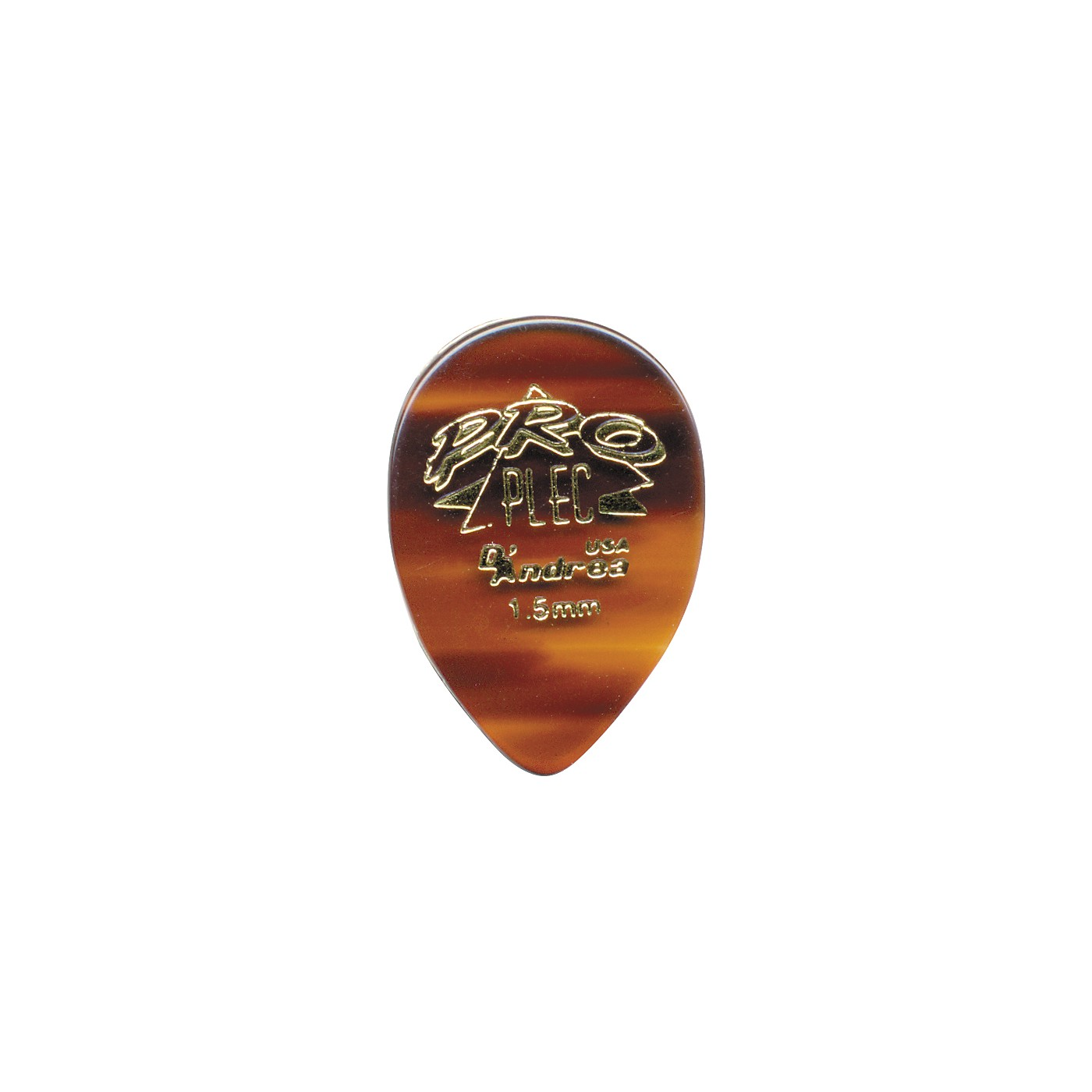 D'Andrea Pro Plec Guitar Picks Small Pointed Teardrop - One Dozen thumbnail