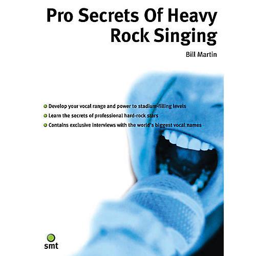 Music Sales Pro Secrets of Heavy Rock Singing Music Sales America Series thumbnail