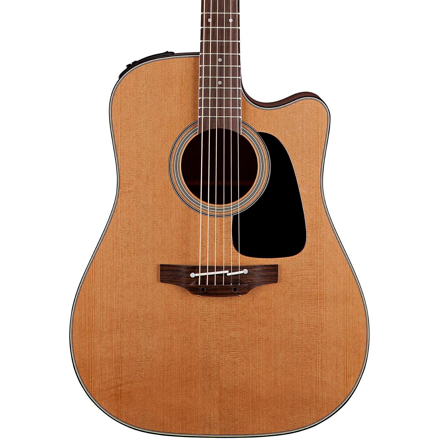 Takamine Pro Series 1 Dreadnought Cutaway Acoustic Electric Guitar thumbnail