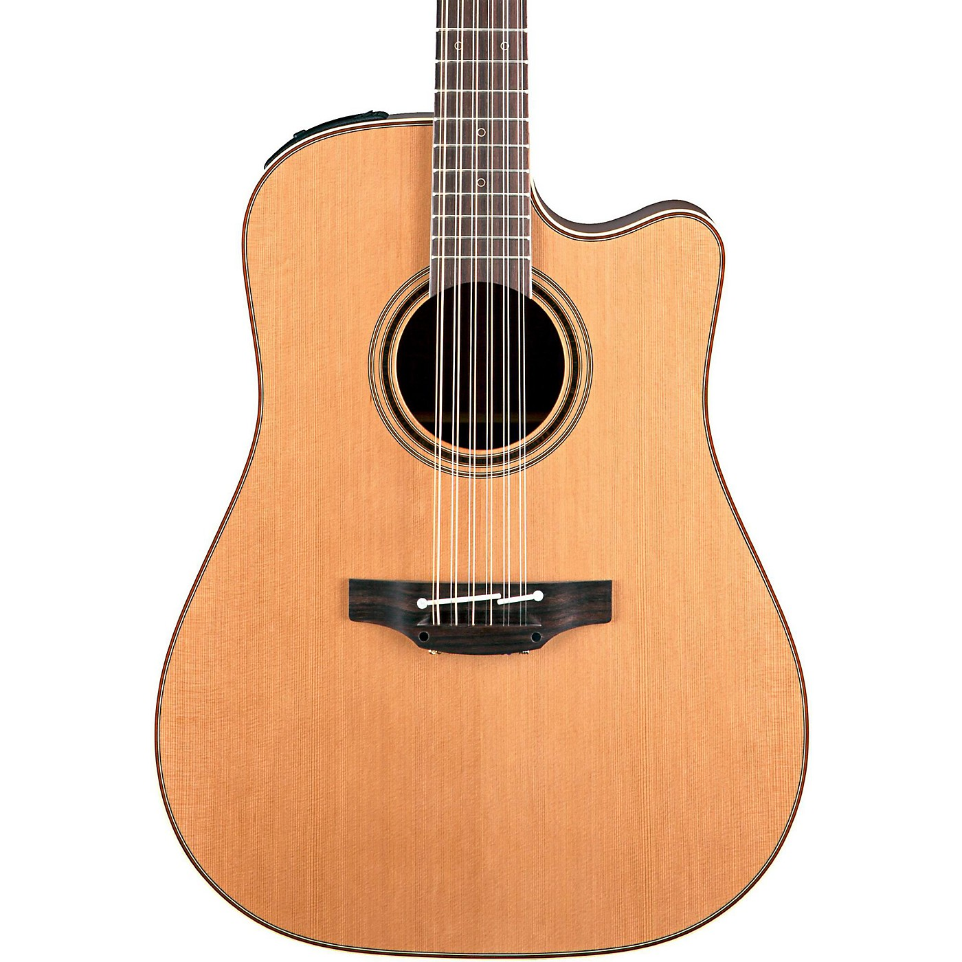 Takamine Pro Series 3 Dreadnought Cutaway 12-String Acoustic Electric Guitar thumbnail