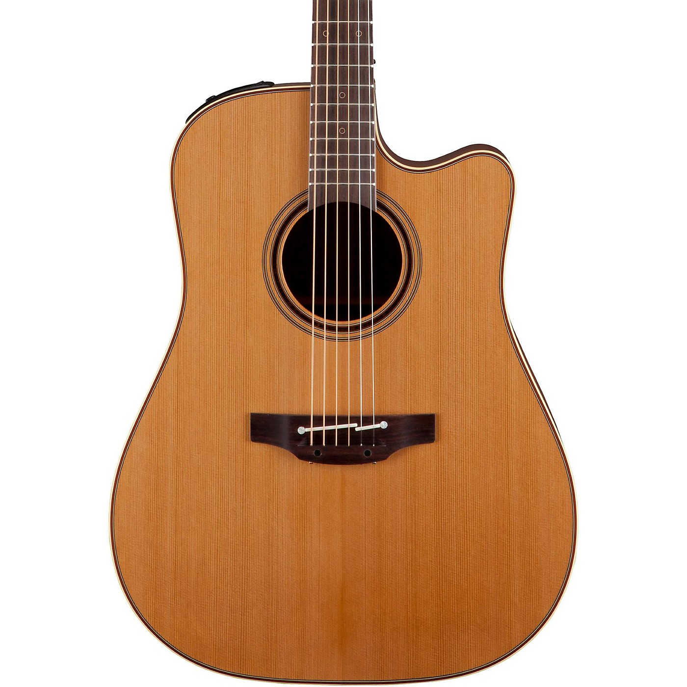 Takamine Pro Series 3 Dreadnought Cutaway Acoustic-Electric Guitar thumbnail